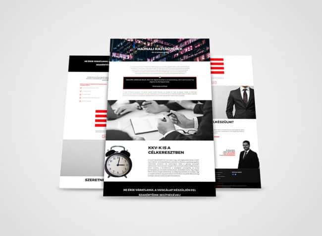 Ügyvéd, honlap, weblap, mobilbarát, reszponzív, honlapkészítés, honlapfejlesztés