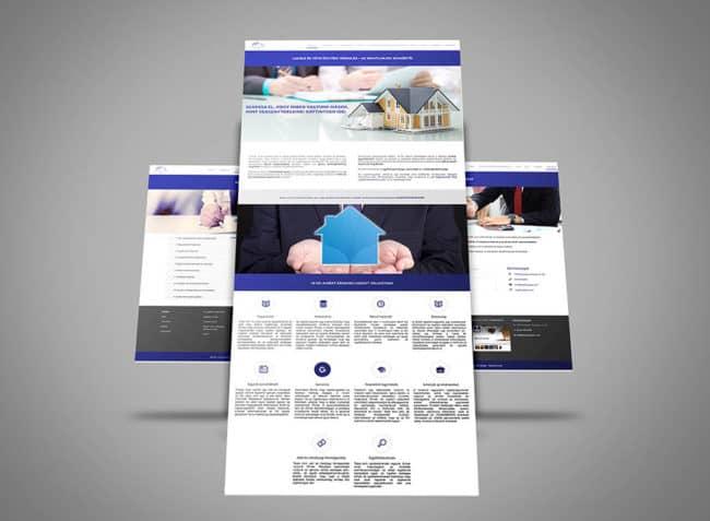 Ingatlanjogász, Ügyvédhonlap, ügyvédi honlap, honlapfejlesztés