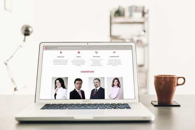 Ügyvédi honlap készítése, honlapkészítés, Ügyvédhonlap, Sár és Társai Ügyvédi Iroda honlap