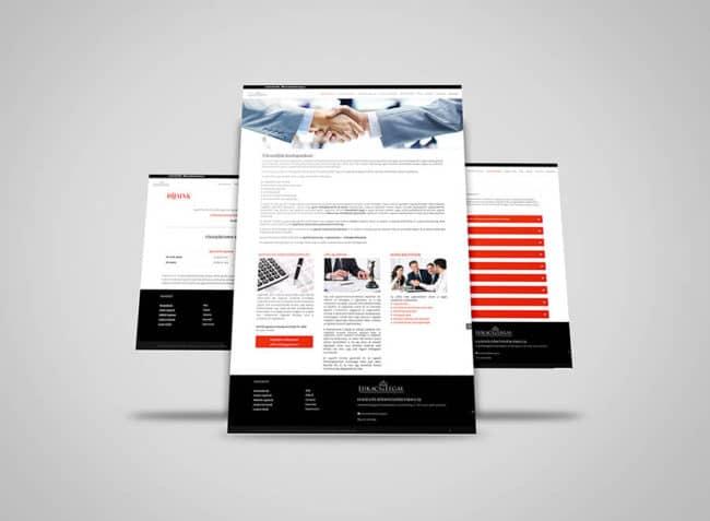 Cégügyvéd, honlap, honlapkészítés