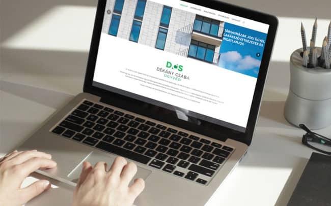Dékány Csaba honlap, honlapkészítés, Ügyvédhonlap, ügyvédi honlap