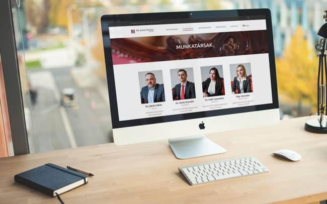 Ügyvédhonlap, ügyvédi honlap készítés, Jakab Ügyvédi Iroda honlap, honlapkészítés, WordPress, Ügyvédhonlap