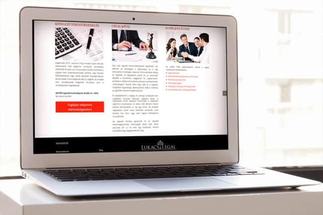 Cégjogász, ügyvédi honlap, ügyvédhonlap